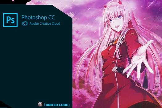Photoshop CC 2019 Zero Two SplashScreen by UnitedCore