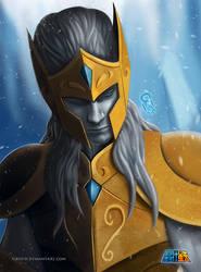 Aquarius Gold Saint by sixfrid
