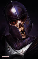 Skull Knight 2 by sixfrid