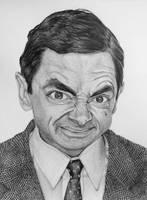 Mr Bean by SophieReddyArt