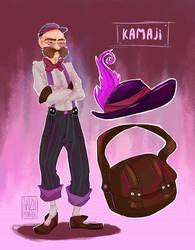 Modern Day Ghibli - Kamaji by hazumonster