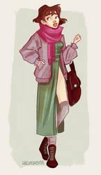 Modern Day Ghibli - Sophie by hazumonster