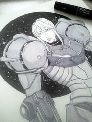 Samus Inks by WhipsmartMcCoy