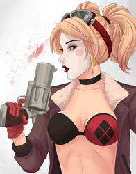 Bombshell Harley by WhipsmartMcCoy