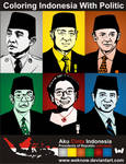 coloringIndonesiawithpolitic by weknow