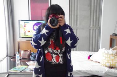 Foxy Photographer by CrystallisArchangel