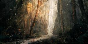 Forgotten Leaves by jeffps