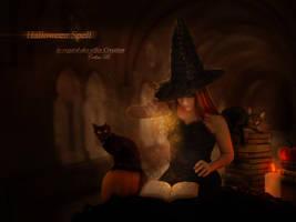 Halloween Spell by Le-Regard-des-Elfes
