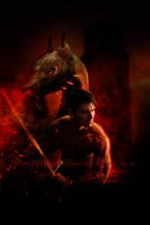 The son of the Dragon by Le-Regard-des-Elfes