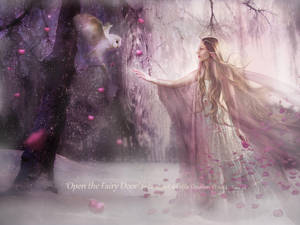 Open the Fairy Door by Le-Regard-des-Elfes