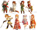 chibis batch 1_3-11 by tsunoh