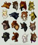 Avatar Commission Batch 9 by Kiriska