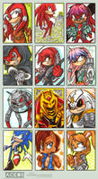 ACEO Your Echidna Overlords by Kiriska