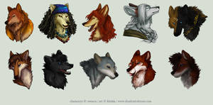 Avatar Commission Batch 12 by Kiriska