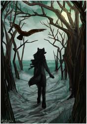 Commission - Erin - Savina and the Sea by Kiriska