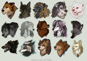 Avatar Commission Batch 13 by Kiriska