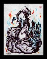 Grudge Fox by Kiriska