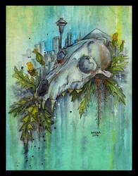 Seattle by Kiriska