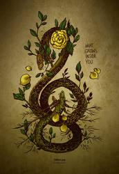 WHAT GROWS INSIDE YOU by Kiriska