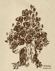 Roses by Kiriska