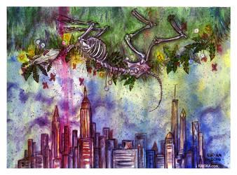 New York III by Kiriska