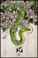 Snake by Kiriska