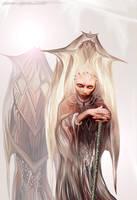 Dark White Queen by BramLeegwater