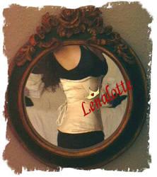 Pale pink edwardian corset by lenalotte