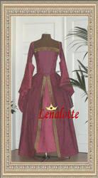Tudor gown by lenalotte