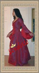 'Dracula' Bustle gown by lenalotte
