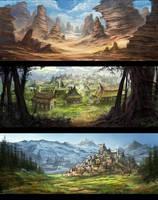 Fantasy Open World by Eru17