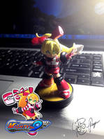 Call - Mighty No. 9 Custom Amiibo Figure by BouncekDeLemos