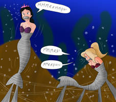 Alana and Arista cocooned !!! by Gregory-GID-DID