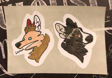 Some stickers I made by ShadowstrikeArtists