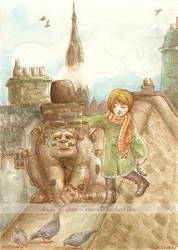 Ilse and the Chimney Golem by emera