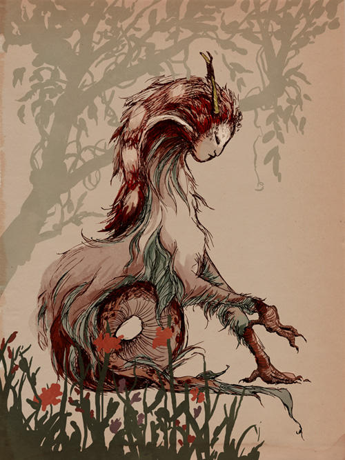 Forest Beast by emera