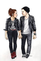 punk!fitzsimmons [commission] by artgyrl