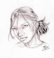 Rose by artgyrl