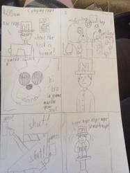 A fnaf comic by devilx23