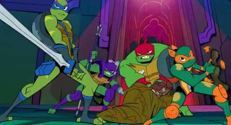 The Turtles and April (Mystic Mayhem) by delilahmonclova18