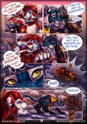 Acrossed Worlds: Page 9 by Enaxn