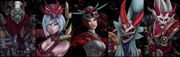 Blood Moon Skins by Hedemi