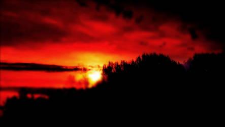 Atum Sky Colour Symphony In The Archipelago   by eskile