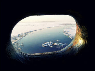Winter Views From A Tugboat Workrooms Februay 1 by eskile