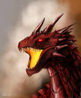 Red Dragon by Schtain