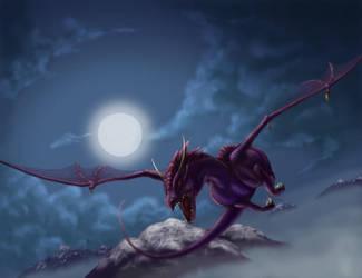 Night Flight by Divinehearts
