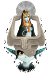 Twilight Princess Tribute - Midna by Meeshell-Art