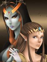 Princesses of Twilight by Meeshell-Art