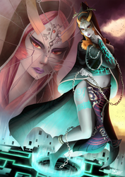 Midna's Regret by Meeshell-Art