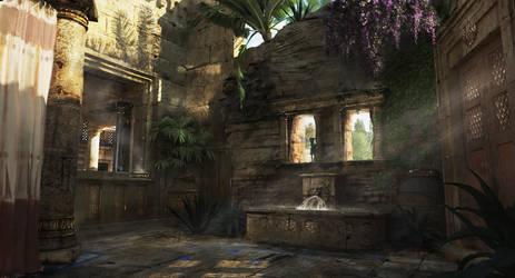 Roman Garden by armsav